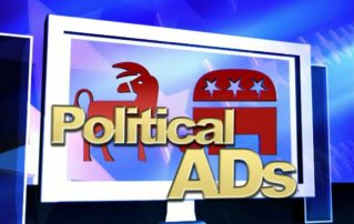 Local Political Ads – down 60%